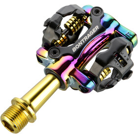 Bontrager Comp MTB Pedals gold/purple